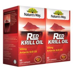 NATURES WAY RED KRILL 90C X 2