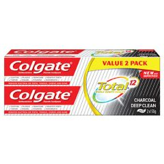 COLGATE TOTAL CHARCOAL DEEP CLEAN 150G X 2