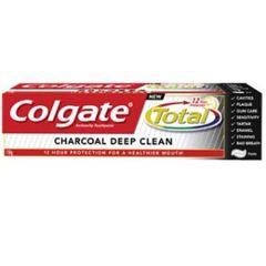 COLGATE TOTAL CHARCOAL DEEP CLEAN 150G