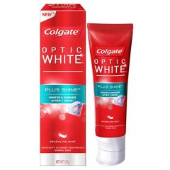 COLGATE OPTIC WHITE PLUS SHINE SPARKLING MINT TOOTHPASTE 100G