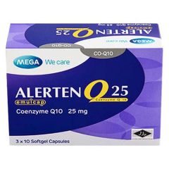 MEGA WE CARE COENZYME Q10 25MG SOFTGEL CAPSULE 30S
