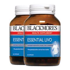 BLACKMORES ESSENTIAL LIVO CAPSULE 60S X 2