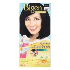 BIGEN ONE PUSH HAIR COLOR 1-0 NATURAL BLACK 1S