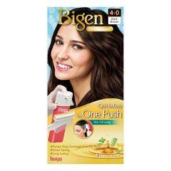 BIGEN ONE PUSH HAIR COLOR 4-0 DARK BROWN 1S