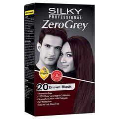 SILKY PROFESSIONAL ZERO GREY-20 BROWN BLACK 1S