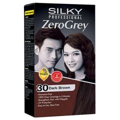 SILKY PROFESSIONAL ZERO GREY - 30 DARK BROWN 1S