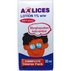A-LICES LOTION ANTI-KUTU RAMBUT 30ML X 2