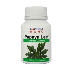 BIOVERSA PAPAYA LEAF EXTRACT 300MG VEGETABLE CAPSULE 60S