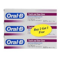 ORAL B TOOTH  GUM PASTE B2F1