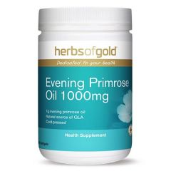 HERBS OF GOLD EVENING PRIMROSE OIL 1000MG SOFTGEL 300S