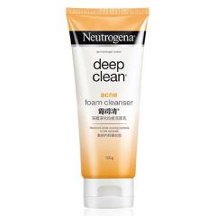 NEUTROGENA DEEP CLEAN ACNE FOAMING CLEANSER 100G