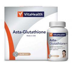 VITAHEALTH ASTA GLUTATHIONE PLUS VEGETABLE CAPSULE 30S X 2