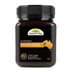 NATURES WAY AUSTRALIAN MANUKA HONEY MGO 100 + 1KG