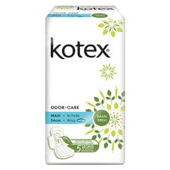 KOTEX NATURAL CARE MAXI WING DAUN SIRIH 24CM 16S