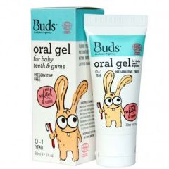 BUDS BABY ORAL GEL FOR TEETH & GUMS 30ML
