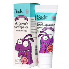 BUDS KIDS TOOTHPASTE WITH XYLITOL BLACKCURRANT 50ML