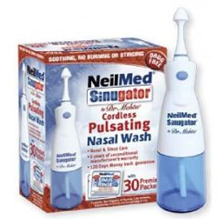 NEILMED SINUGATOR CORDLESS PLUSATING NASAL WASH