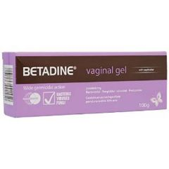 BETADINE VAGINAL GEL WITH APPLICATOR 100G