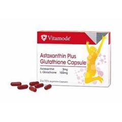 VITAMODE ASTAXANTHIN PLUS GLUTATHIONE VEGETABLE CAPSULE 10S X 3
