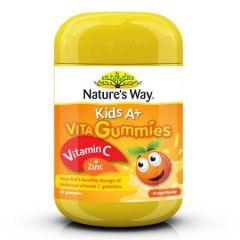 NATURES WAY KIDS A + VITA GUMMIES WITH VITAMIN C 60S