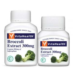 VITAHEALTH BROCCOLI EXTRACT 300MG SOFTGEL 60S + 30S