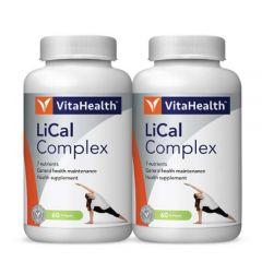 VITAHEALTH LICAL COMPLEX SOFTGEL 60S X 2