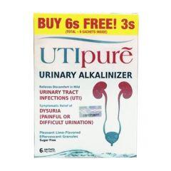 LIVE-WELL UTIPURE URINARY ALKALINIZER SACHET 6S + 3S