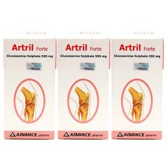 ARTRIL FORTE GLUCOSAMINE SULPHATE 500MG 60S X 3