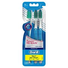 ORAL B TOOTHBRUSH CROSSACTION PRO HEALTH 7 BENEFITS SOFT 3S