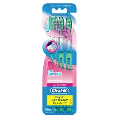 ORAL B TOOTHBRUSH ULTRA THIN PRO GUM CARE 3S