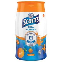SCOTT'S DHA GUMMIES ORANGE 60S