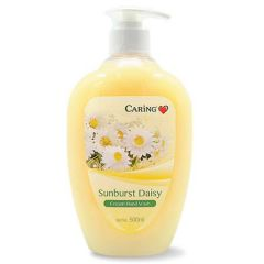 CARING FLORAL CREAM HAND WASH SUNBURST DAISY 500ML