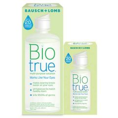 BAUSCH+LOMB BIOTRUE MULTI-PURPOSE SOLUTION 300ML + 60ML