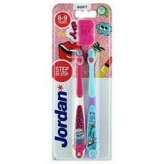 JORDAN KIDS TOOTHBRUSH STEP 3 (6-9 YEARS) SOFT 2S
