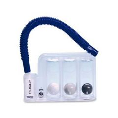TRI-BALL RESPIRATORY FITNESS EXERCISER