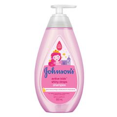 JOHNSONS ACTIVE KIDS SHINY DROPS SHAMPOO 500ML