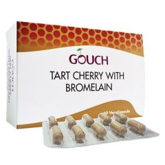 GOUCH TART CHERRY WITH BROMELAIN 250MG VEGETABLE CAPSULE 10S X 6
