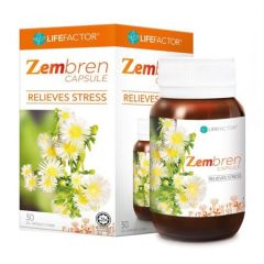 ZEMBREN RELIEVES STRESS CAPSULE 30S