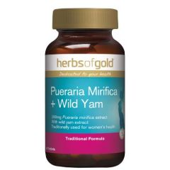 HERBS OF GOLD PUERARIA MIRIFICA + WILD YAM TABLET 90S