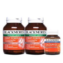 BLACKMORES JOINT FORMULA 60S X 2 + CALCIUM + D3 30S