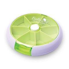 FULLICON PUSH N TURN PILL BOX MB001