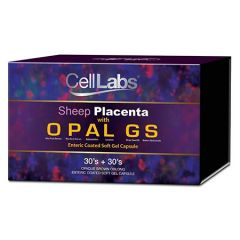 CELLLABS SHEEP PLACENTA WITH OPAL GS CAPSULE 30S X 2