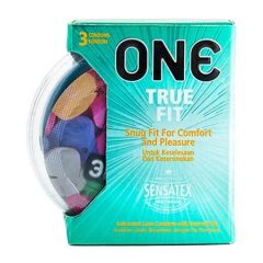ONE CONDOM TRUE FIT 3S