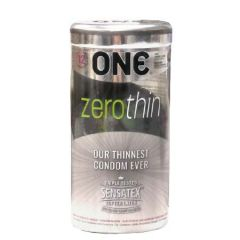 ONE CONDOM ZEROTHIN 12S