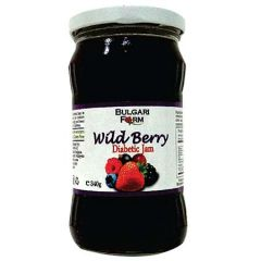 BULGARI FARM DIABETIC JAM WILDBERRY 340G