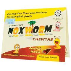 NOXWORM CHEWTAB (CHOCOLATE) 2S