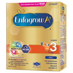 ENFAGROW A+ ORIGINAL STEP 3 360 DHA+ MFGM COMPLEX MILK POWDER 1.2KG