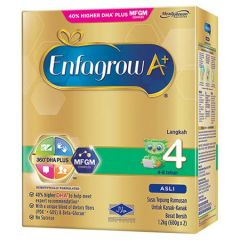 ENFAGROW A+ ORIGINAL STEP 4 360 DHA+ MFGM COMPLEX MILK POWDER 1.2KG