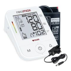 "ROSSMAX BLOOD PRESSURE MONITOR WITH ""PARR"" TECHNOLOGY (FREE ADAPTOR) MODEL: X5"