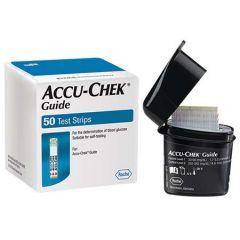 ACCU-CHEK GUIDE BLOOD GLUCOSE TEST STRIP 50S